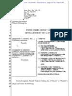 LUSH trademark declaratory judgment complaint.pdf