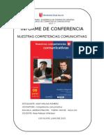 Informe Conferencia  Con Recibo de Participación