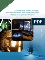 GuiaUE Bp2006-25-Ce Radiacion Optica