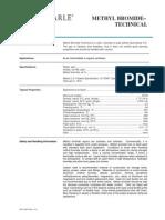 BFC-0009 Methyl Bromide Technical TDS 8.13