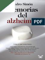 Simon, Pedro - Memorias Del Alzheimer [16853] (r1.0)