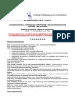 EXPOSICIONES Programacion Congreso