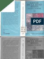 Power Eileen Gente Dela Edad Media Eudeba 1998 El Campesino Bodo