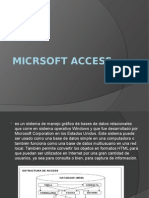 Micrsoft Access