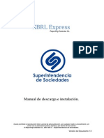 Manual de Descarga e Instalacion XBRL