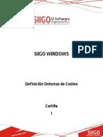 Cartilla - Definicion Sistemas de Costeo