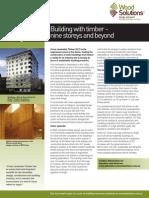 Cross Laminated Timber Fact Sheet