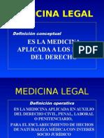 1.Medicina Legal - Inagural