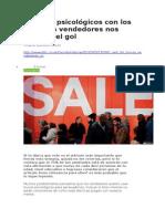 BBC MUNDO - 6 Trucos Psicológicos Con Los Que Los Vendedores Nos Meten El Gol - 08 05 15