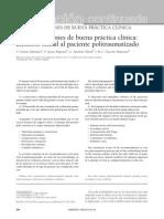 Recomendaciones Manejo Paciente Politraumatizado