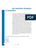 Chemical Reaction kinetics in practice