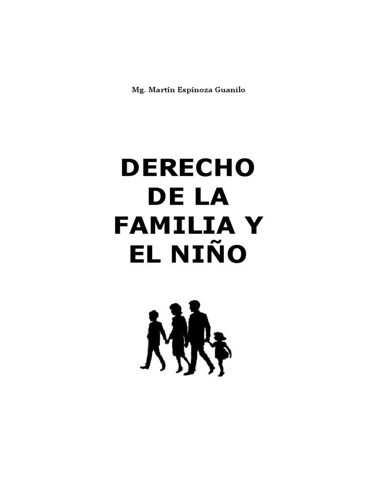 Compilado Derecho de La Familia y La Niñez