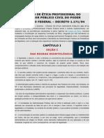 Código de Ética Profissional Do Servidor Público Civil Do Poder