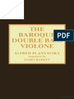the baroque double bass