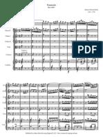Bach Concerto Pour Clavecin Bwv 1057 [ Conducteur ]