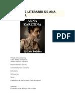 Analisis Literario de Ana Karenina