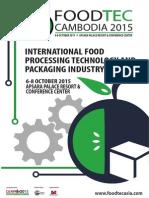 Foodtec'15 Brochure