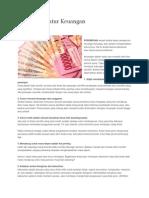 5 Cara Mengatur Keuangan