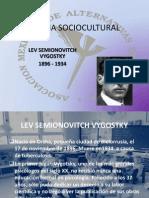 Presentación 8, Teoria Sociocultural