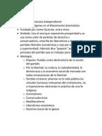 Resumen Partidos Politicos Chile