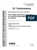 IEEE Std 802.16 03-2004_Radio Conformance Test (RCT) for 10-66 GHz