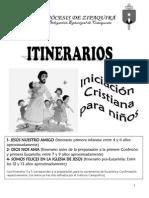 Itinerario Primera Infancia