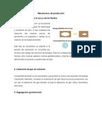 Mecanismos de Poduccion