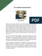 Stefan Gandler - Quién es Bolívar Echeverría
