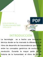 evolucion de la tecnologia multimedia