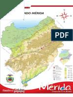 Mapa de Mérida - Venezuela_Formato Tabloide