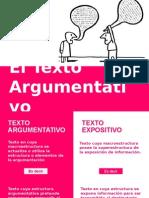 10.El Texto Argumentativo