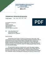 EPA order to North Las Vegas