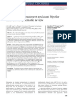 Clozapine for Treatment Resistant Bipolar Systematic Review