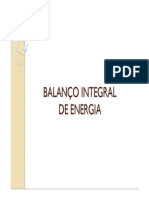 Balanço Integral de Energia