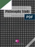 Philosophy Sample