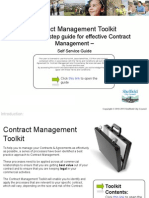 AH-Contract Management Toolkit - Self Service Vers.01.00