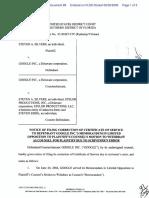 Silvers v. Google, Inc. - Document No. 89