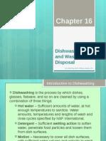 Dishwashing and Waste Disposal