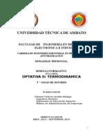 Modulo Optativa 2 Termodinamica Abril 2015