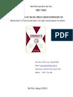 Huong dan su dung Endnote X5 Nguyen Kep