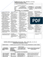 DCN MODIFICADO  RM. 119 ED. - 2015 FORMACIÓN CIUDADANA Y CÍVICA