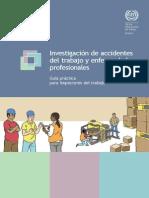 OIT - Investigación de Accidentes del Trabajo y Enfermedades Profesionales - Guía Práctica para Inspectores de Trabajo - 2015