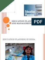 Educational Planning & Management