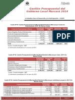 Reporte de Vigilancia 15 Balance Marcará 2014