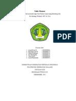 Laporan Praktek GKL 6 - Table Manner