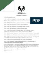 Metrópoli Jueves 2 de Julio