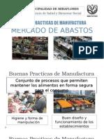 Buenas Practicas de Manufactura Mercado de Abastos