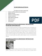 Clasificación de Motores Electricos