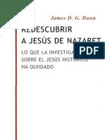 128 - James Dunn - Redescubrir a Jesus de Nazaret