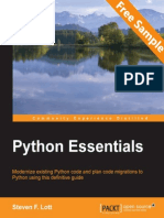 Python Essentials - Sample Chapter
